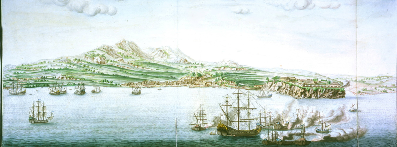 Cartes marines, view of Martinique, 1700. Newberry Ayer MS Map 30, Sheet 60.