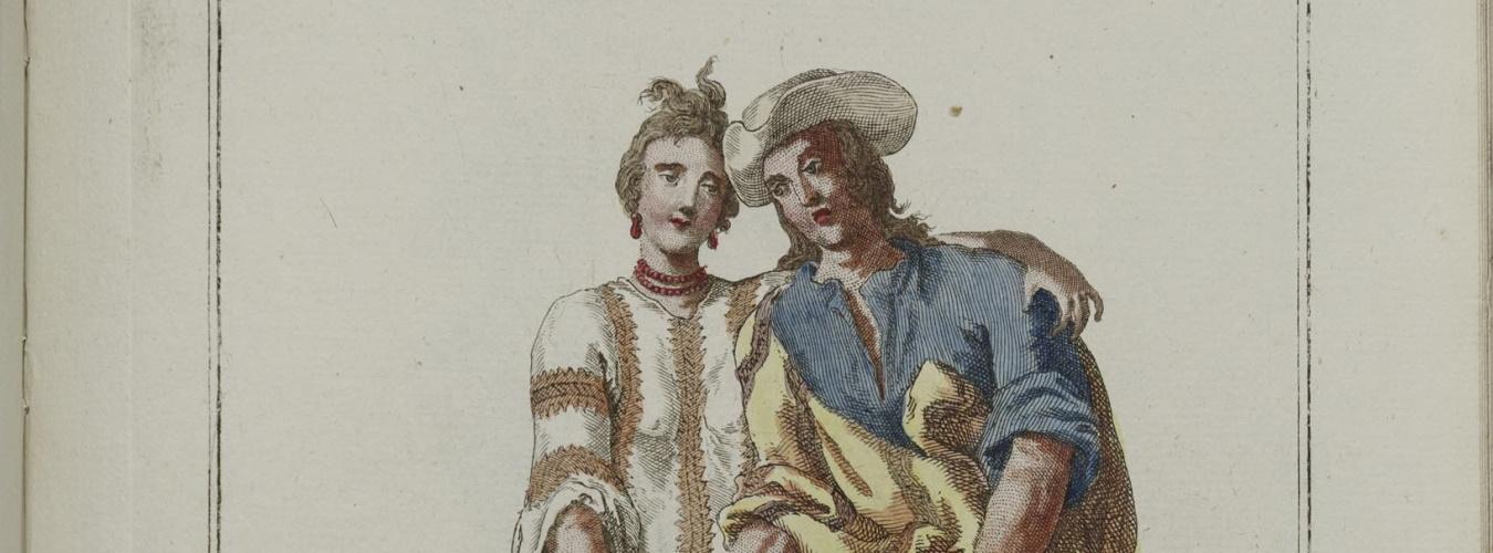 Coleccion de trajes de España. Ayer 335 c95 1777, Plate 65.